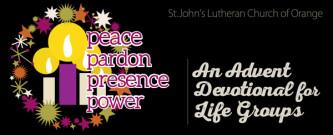 peace, pardon, presence, power
