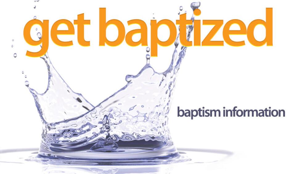 Baptism Information Meeting