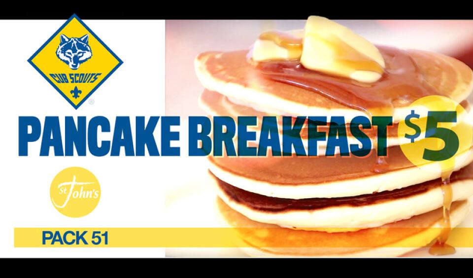 Cub Scout Pancake Breakfast