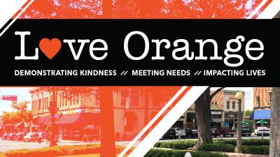 Love Orange Serve Day