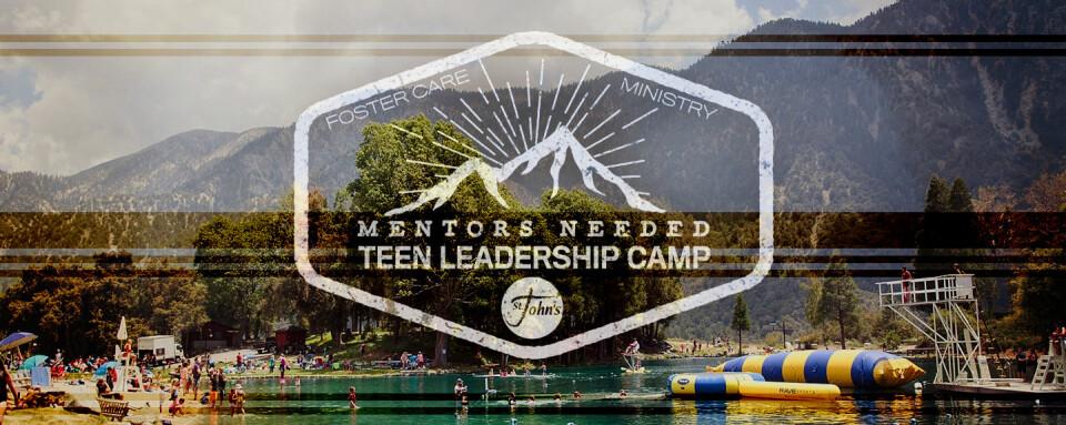 Foster Teen Camp - Mentors Needed