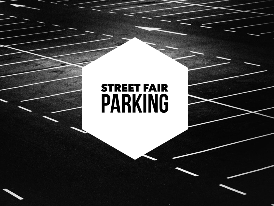Street Fair Parking - Youth Fundraiser