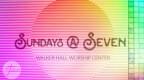 New Time - Sundays @ Seven