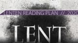 LENTEN READING PLAN