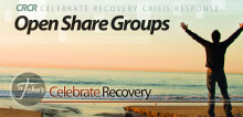 Celebrate Recovery CRCR Open Share Groups