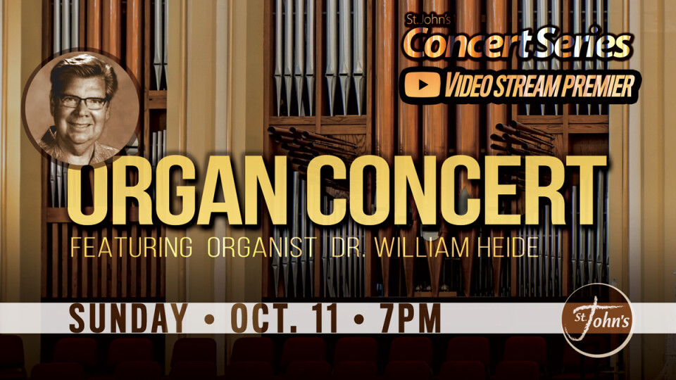 Organ Concert - William Heide